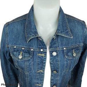 📣2/36$📣 Old Navy jeans jacket metal studs